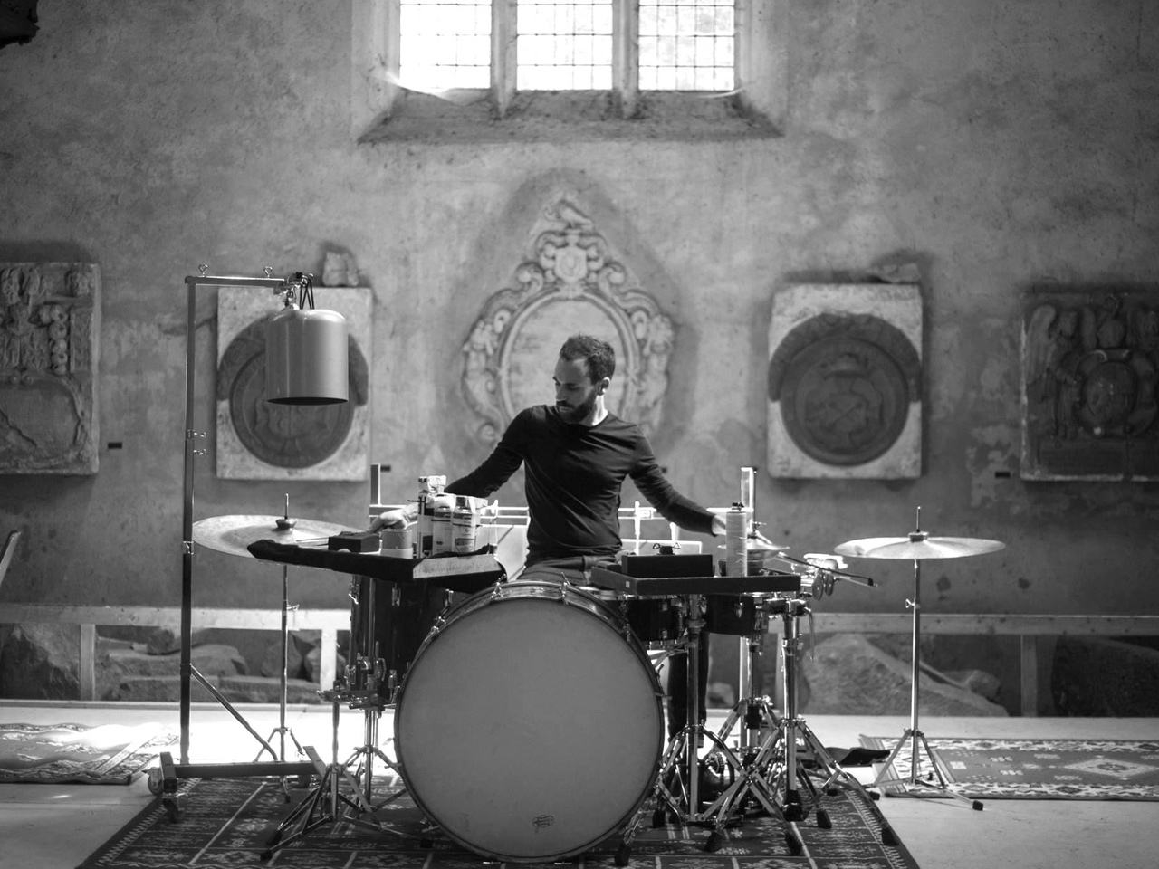 Alexandre Babel on drums - OVER/UPPER