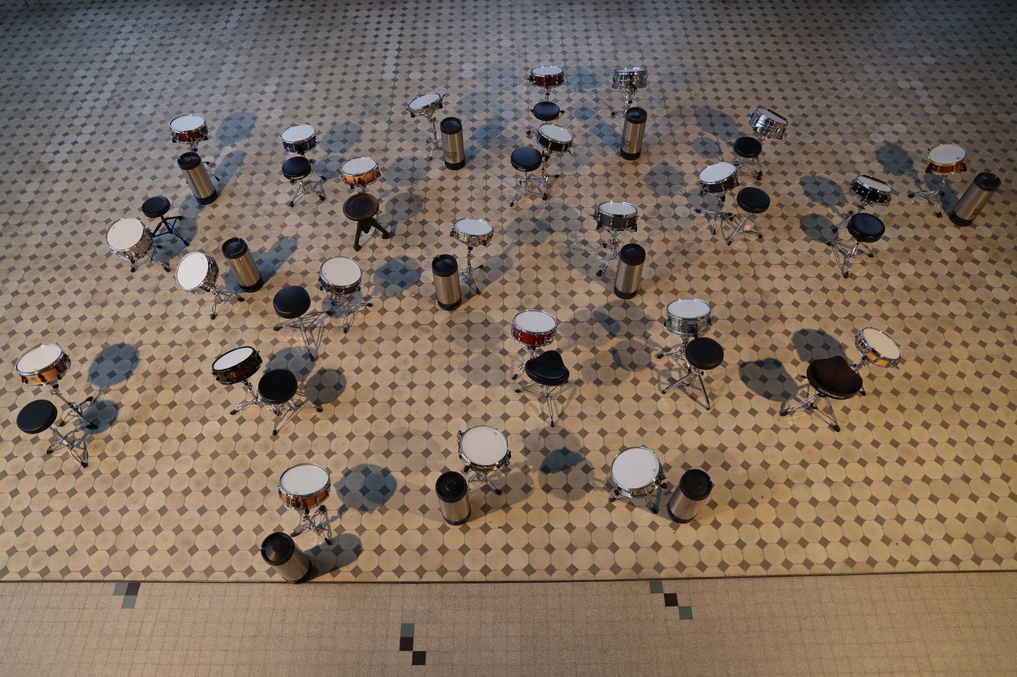 Les Amplitudes_Mio Chareteau-Field Drum Monument ©Pablo Fernandez